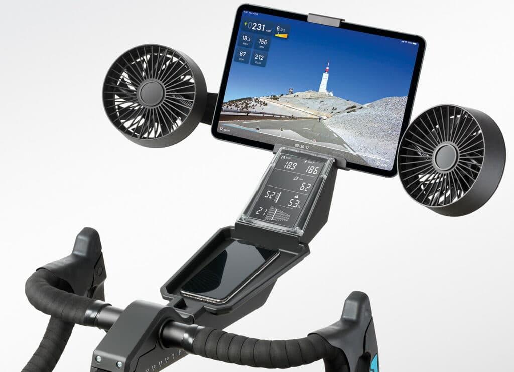 Le Neo Bike avec ses 2 ventilateurs