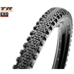 Zoom sur la structure d'un pneu VTT Mixte
