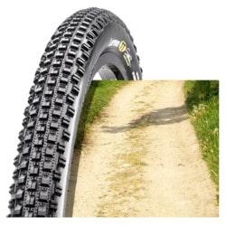 Zoom structure pneu VTT sec compact
