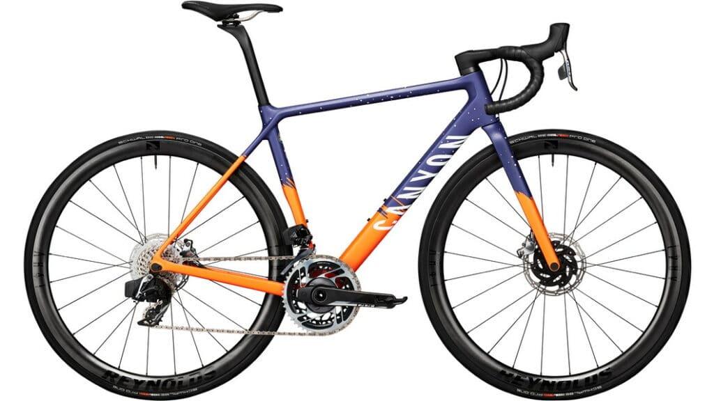 Le vélo de route Canyon Ultimate très haut de gamme