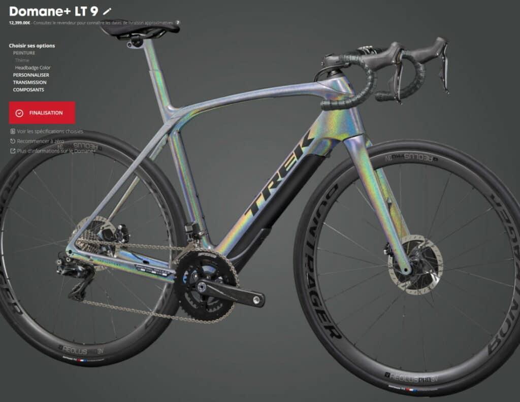 Personnaliser son vélo Trek avec le Project One