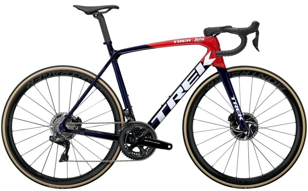 Le vélo très polyvalent chez Trek : l'Emonda