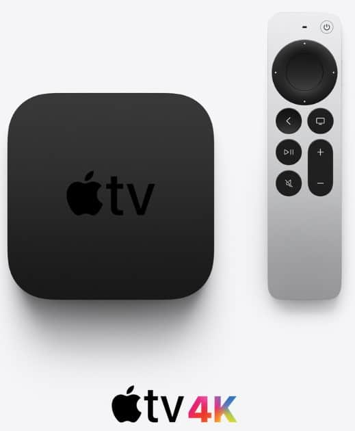 Le boitier Apple TV 4k