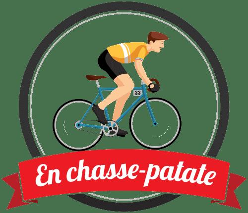 Le logo du jeu Fantasy Cycling : En chasse patate
