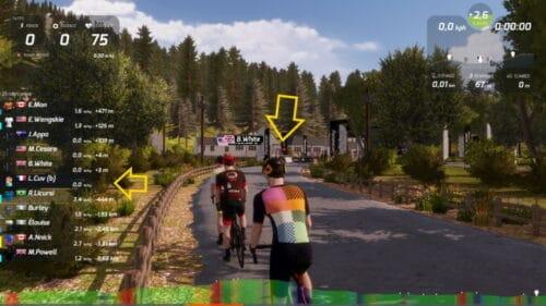Ludo de CommeUnVelo sur le jeu de simulation cyclisme RGT Cycling