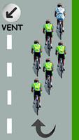 Le cycliste blanc est leader