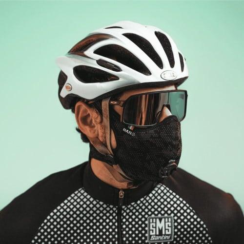 Le masque R-Pur pour se protéger de l'air à vélo