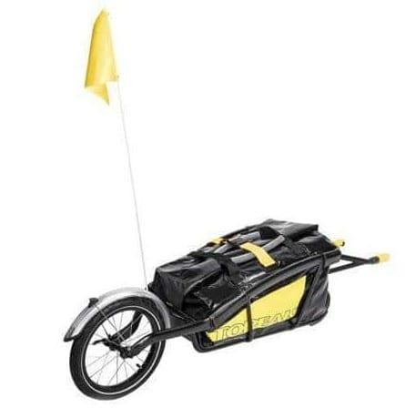Une remorque mono-roue pour voyager facilement