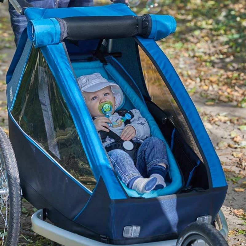 Un hamac bébé pour utiliser sa remorque vélo sans risque